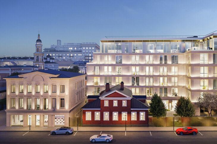 Первый в Москве жилой комплекс Armani появится в 2024 году