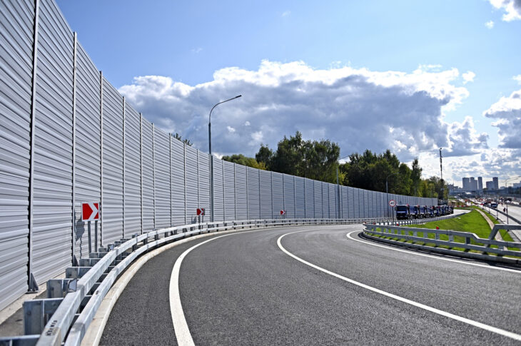 Реконструкция улицы Шоссейная в составе Юго-Восточной хорды завершена на треть