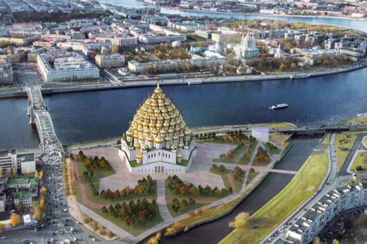 В Петербурге хотят построить 320-купольный храм. Реально ли это?