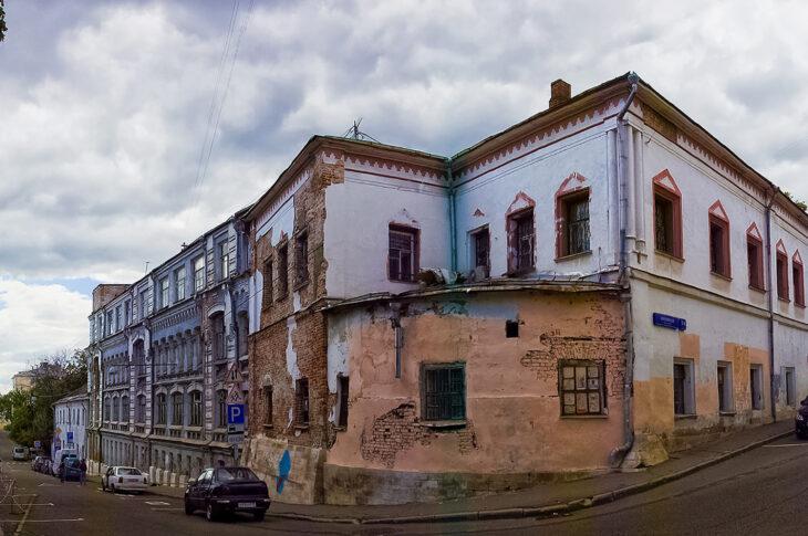 В палатах Украинцева обнаружили старинные архитектурные элементы