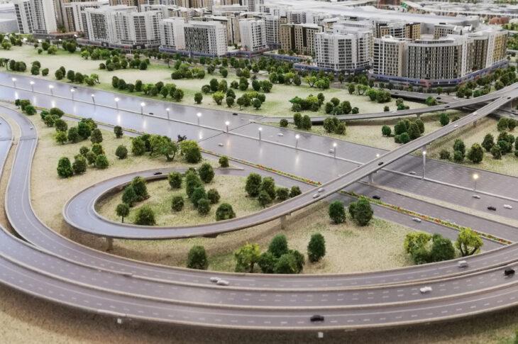 Вдоль ЦКАД в Новой Москве построят полмиллиона «квадратов» жилья