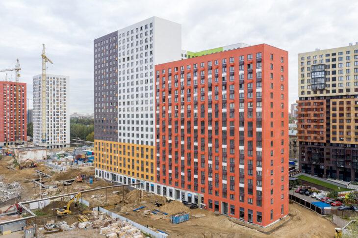 Еще четыре корпуса на 1000 квартир построят в ЖК «Волжский парк»