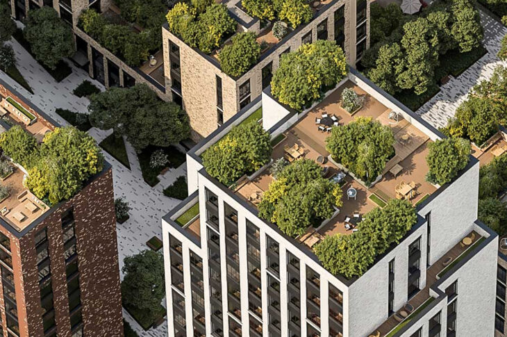 ЖК City Park с садами на крыше построят на месте сахарного завода