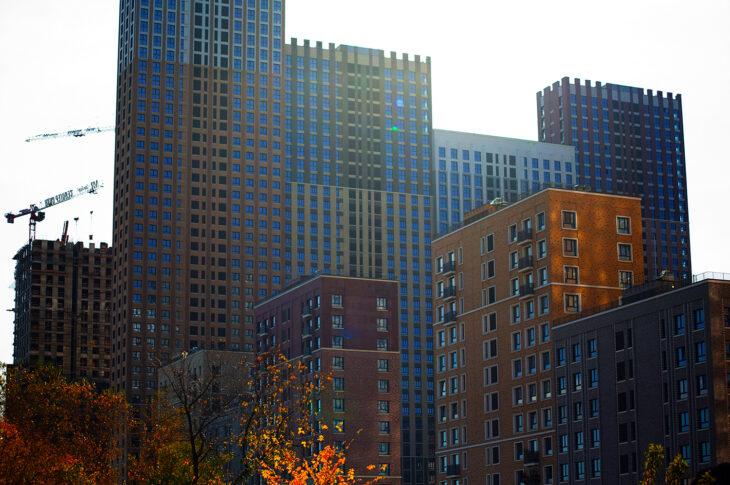 В Северном округе введено в эксплуатацию почти 700 тыс. «квадратов» недвижимости