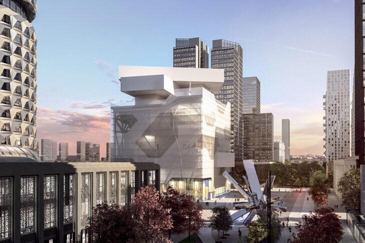 В «Эрмитаже» создадут террасу со смотровой площадкой