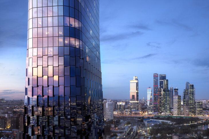 Стартовали продажи в небоскребе Famous на западе Москвы