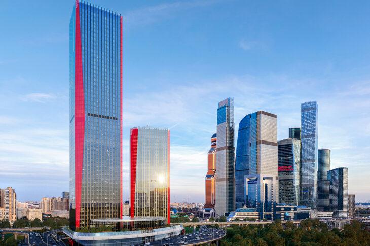 Подготовлен фундамент башни Space в составе деловых небоскребов iCITY девелопера MR Group