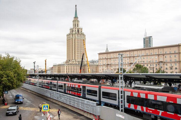 Реконструкция участка Каланчевская – Курская МЦД-2 выполнена на 50%
