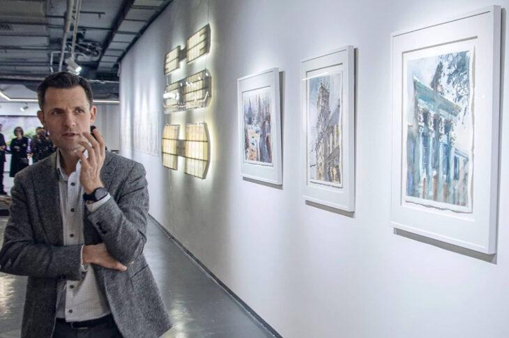 Галерея «Триумф» проведет выставку главного архитектора Москвы Сергея Кузнецова