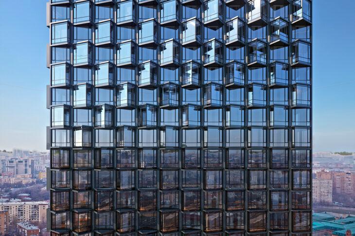 Здания ЖК на Летниковской улице украсит пиксельный узор