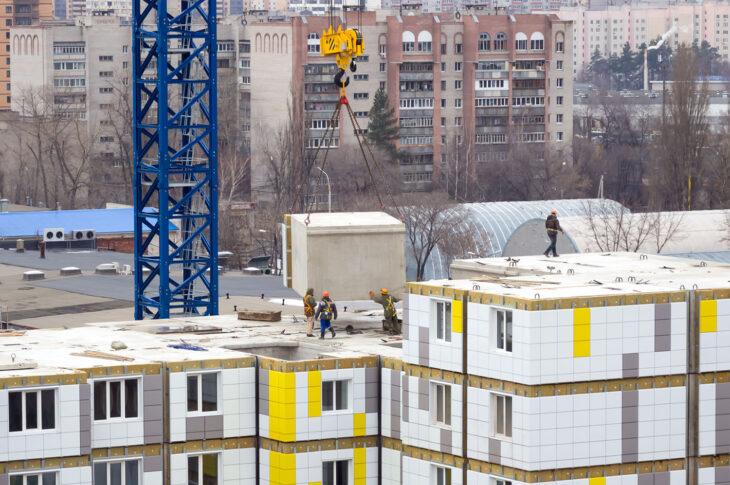 «Эталон» планирует возводить из префабрицированных модулей высотные дома