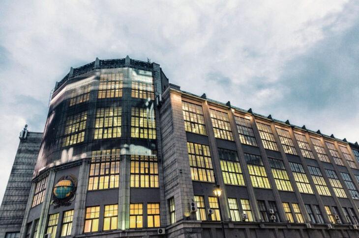 Мэр рассказал о реставрации Центрального телеграфа