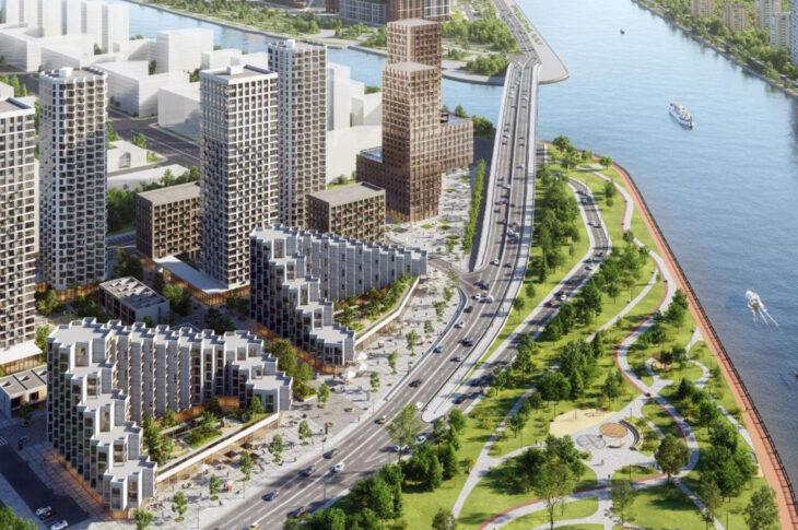 В ГК «Эталон» рассказали, как проектируется Москва будущего