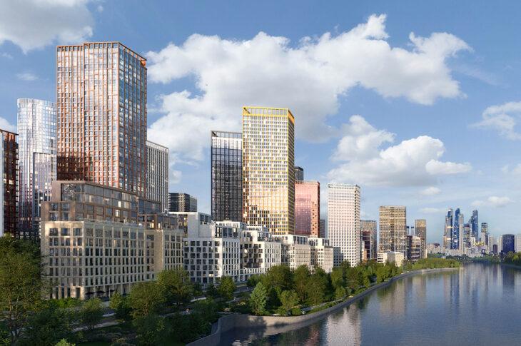 Строительство двух корпусов ЖК Sydney City началось в СЗАО