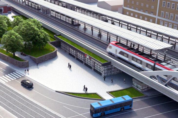 Станцию МЦД «Каланчевская» переименуют в «Площадь трех вокзалов»