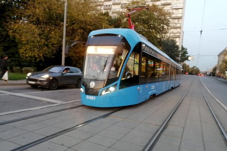 Новая трамвайная линия сделает доступнее станцию метро «Пражская»