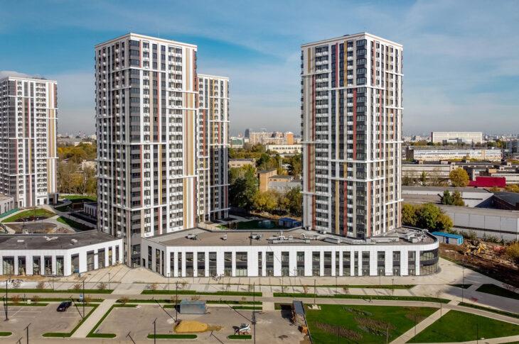 Введены в эксплуатацию четыре дома в составе ЖК «Life-Варшавская»