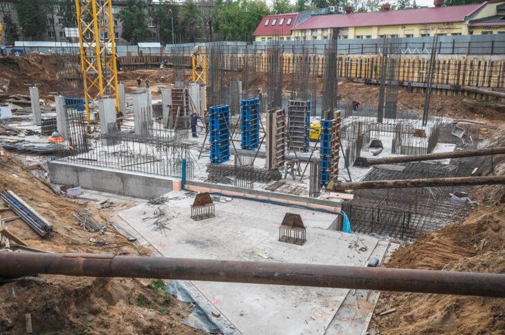 В Выхино-Жулебино начали строительство двух домов по реновации